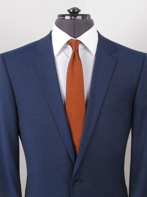hugo boss anzug amaro heise blau slim fit neuwertig. Black Bedroom Furniture Sets. Home Design Ideas